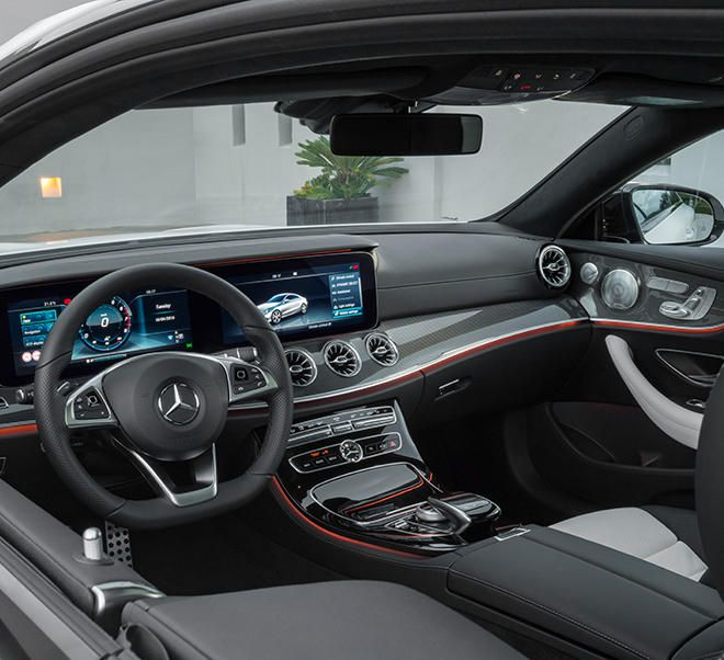 The new e class coup mercedes benz benz and dream cars for Mercedes benz e class interior