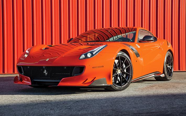 Fondo Escritorio Ferrari F12 Berlinetta: Descargar Fondos De Pantalla 4k, El Ferrari F12 TDF De