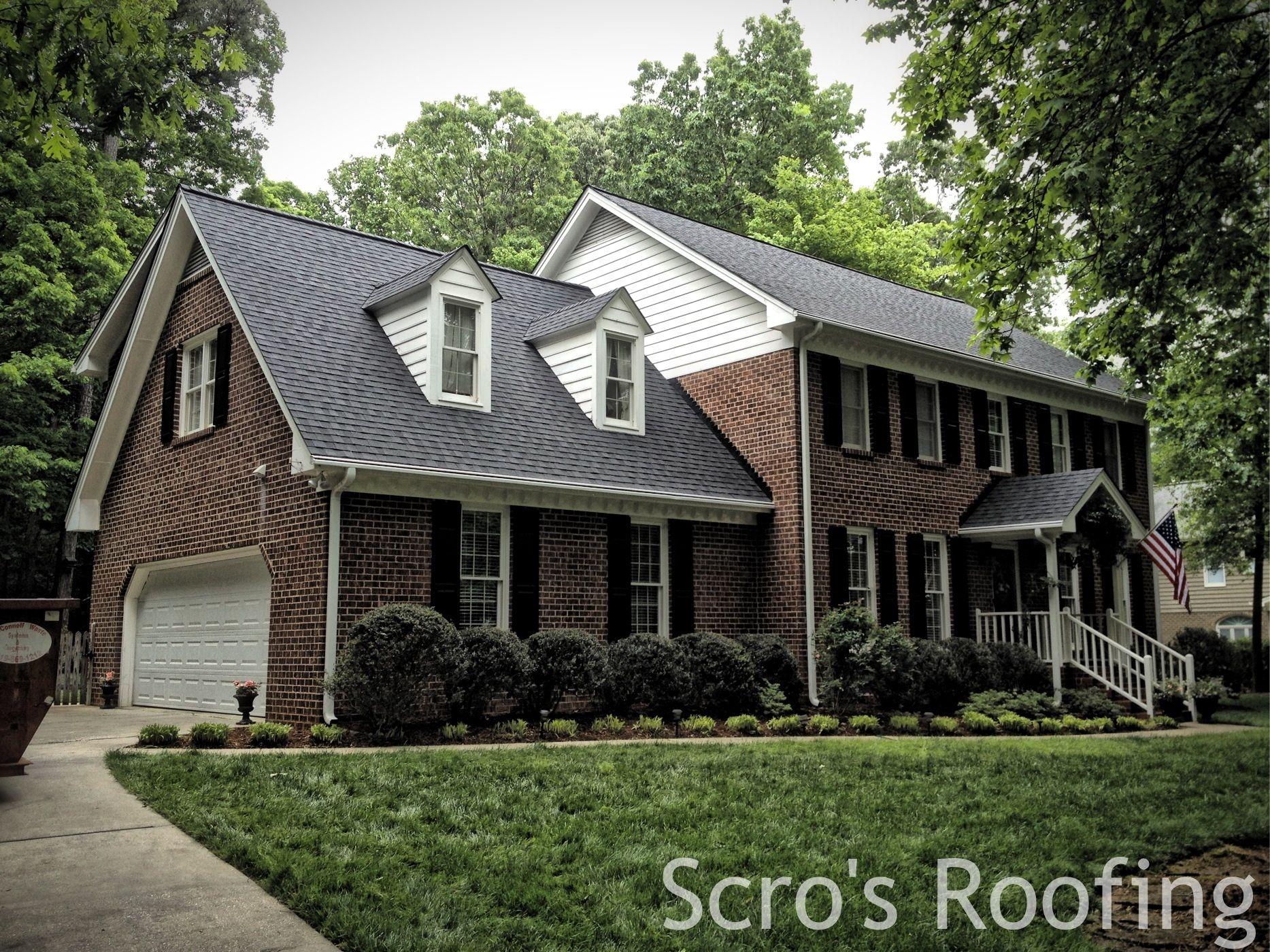 Roof In Raleigh Nc Certainteed Landmark Color Moire