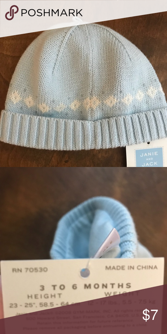 a9b69b186b8 Janie and Jack hat-New kids hats with TAGS! Lined winter hat for baby boy  Janie and Jack Accessories Hats