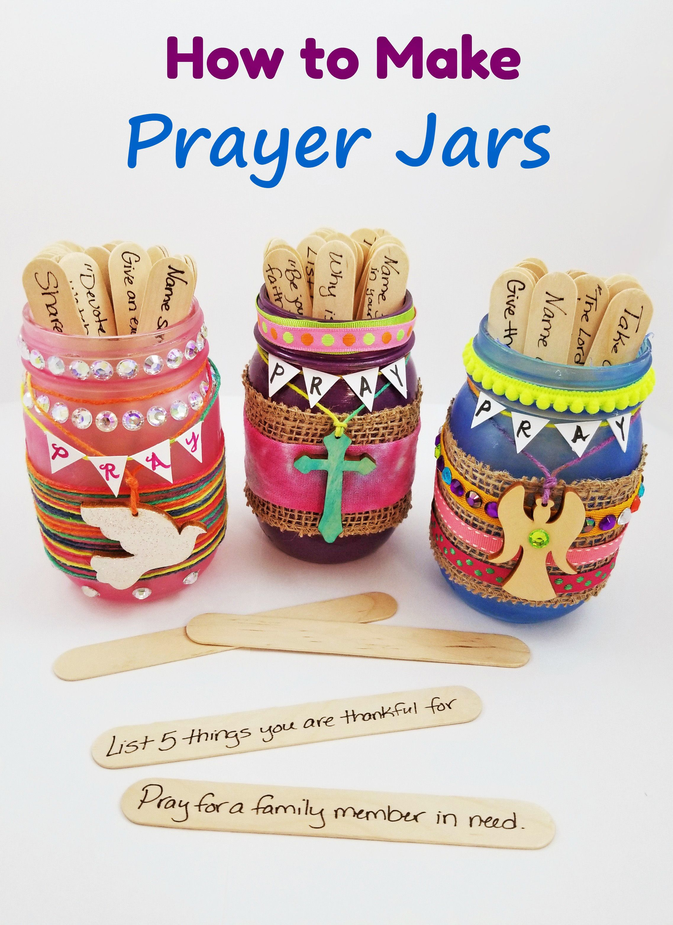 How to Make Prayer Jars - Religious Craft Activity & Lesson - S&S Blog