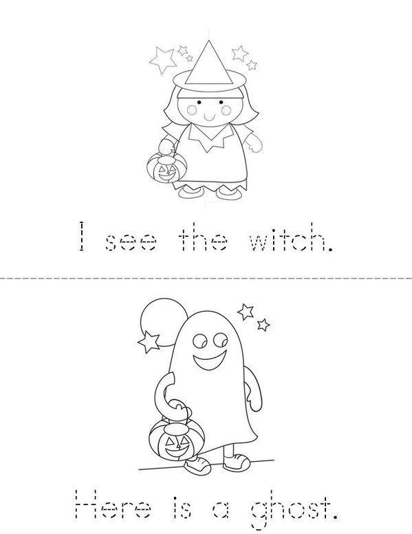 Image Result For Halloween Mini Books Kindergarten  School