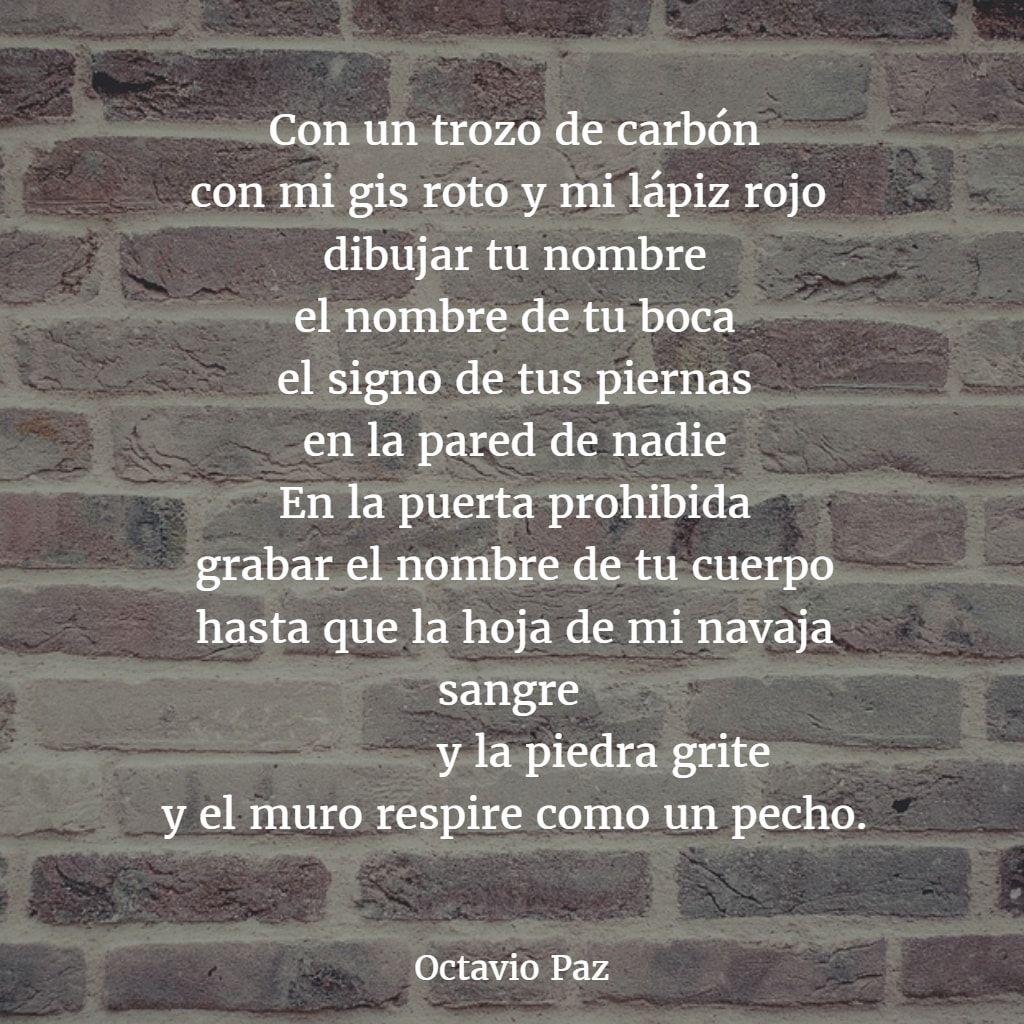 Poemas De Octavio Paz 9 Octavio Paz Poemas Poemas Versos