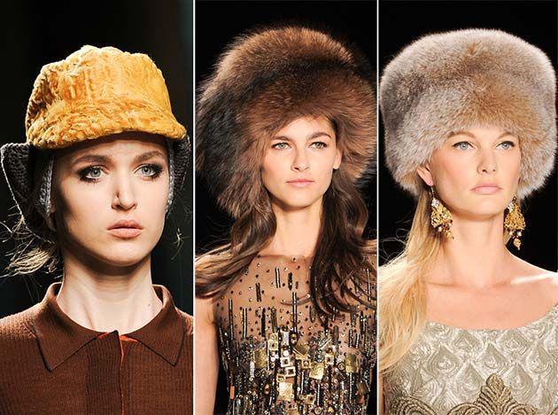 Fall  Winter 2014-2015 Headwear Trends  Fur Hats  hats  headwear 7dcd0c9e3cd6