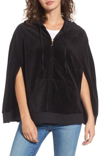 JUICY COUTURE WOMEN S JUICY COUTURE VELOUR CAPE JACKET.  juicycouture  cloth    0fa221fa5