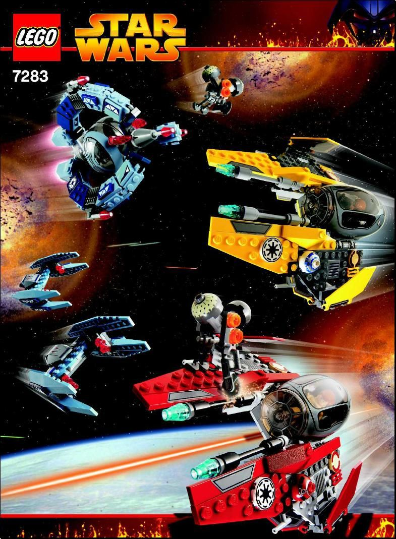 Star Wars Episode 3 Ultimate Space Battle Lego 7283 Lego Sets