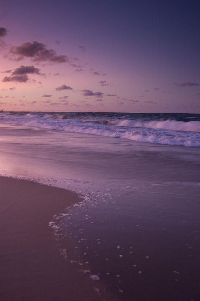 Backgrounds Beach tumblr, Purple beach, Clouds wallpaper