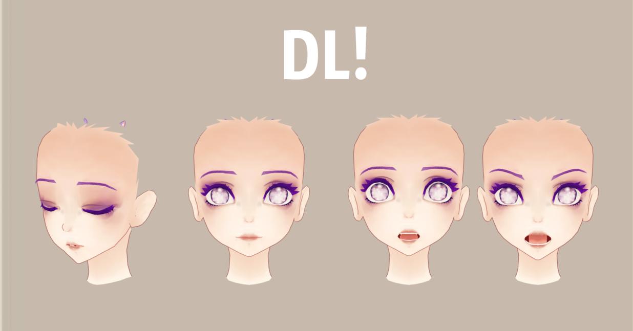MMD ]KUMA Face Edit DL! by MMDMikuMikuLen deviantart com on