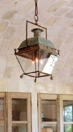 Old Lantern Country Light Fixtures Light Fixtures Country