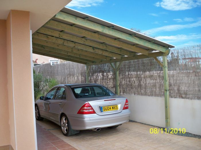 Lean to carport car port pinterest car ports for Lean to carport plans