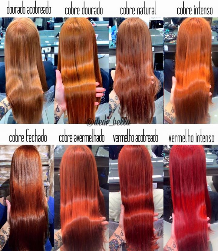 dec dce   red hair shades color fogo pink ombre also wella koleston perfect vibrant reds glamot beauty stuff rh pinterest