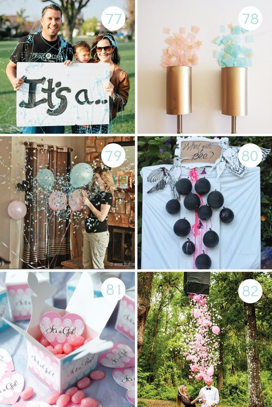 100 Gender Reveal Ideas – Announcing Gender of Baby Ideas