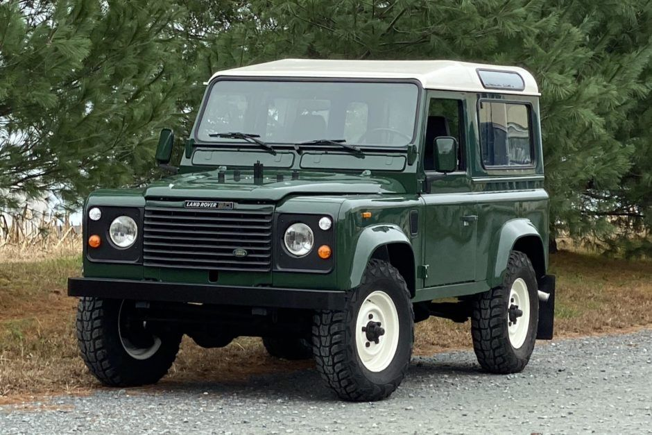1991 Land Rover Defender 90 200tdi 5 Speed In 2020 Land Rover Defender Land Rover Defender 90