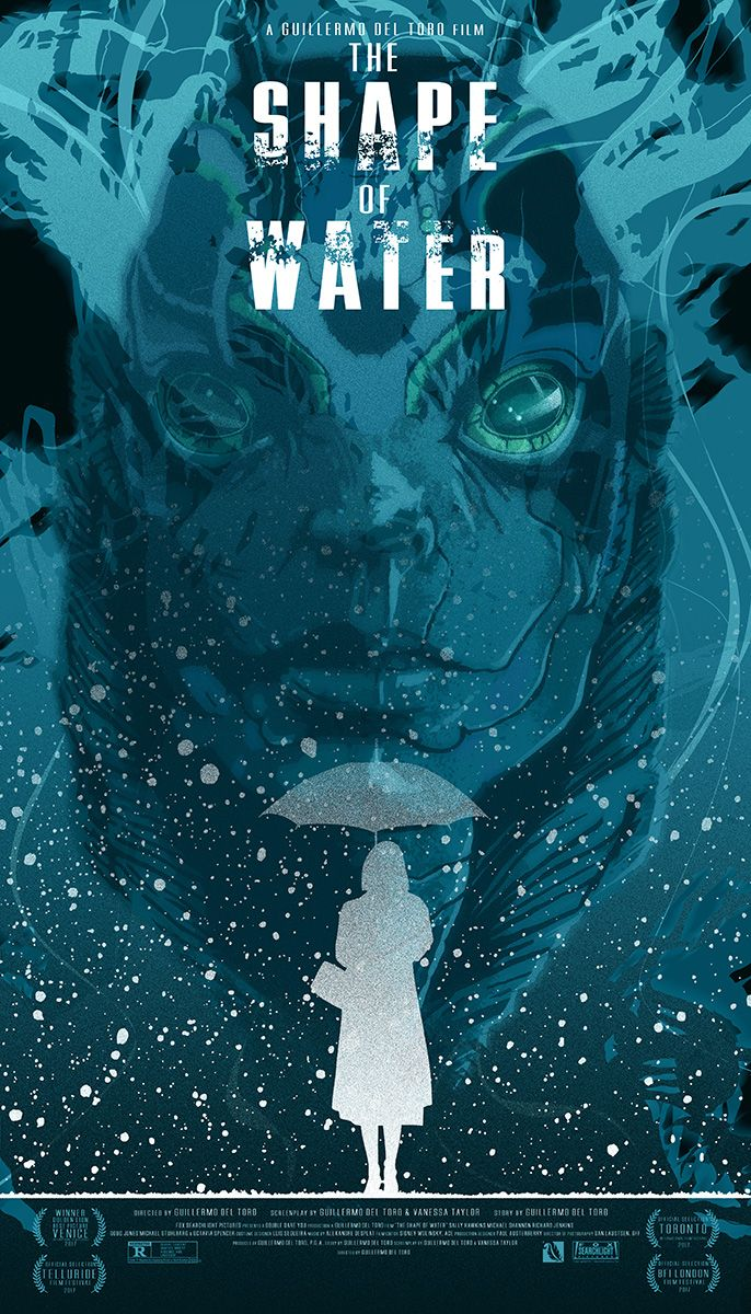 The Shape Of Water 2017 686 X 1200 The Shape Of Water Water Artwork Classic Movie Posters