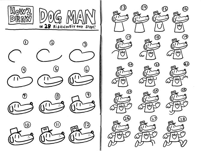 Watch Out For Dav Pilkey S Comic Dog Man Dog Man Book Dav Pilkey Dog Man Dog Drawing