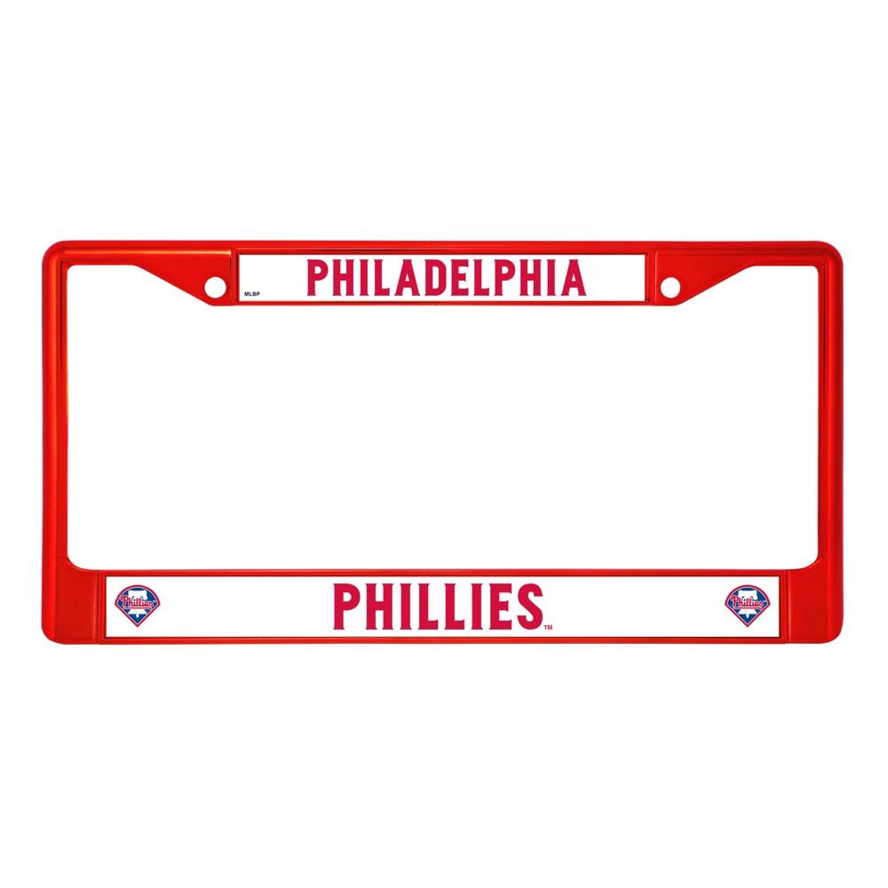 MLB Philadelphia Phillies License Plate Frame License