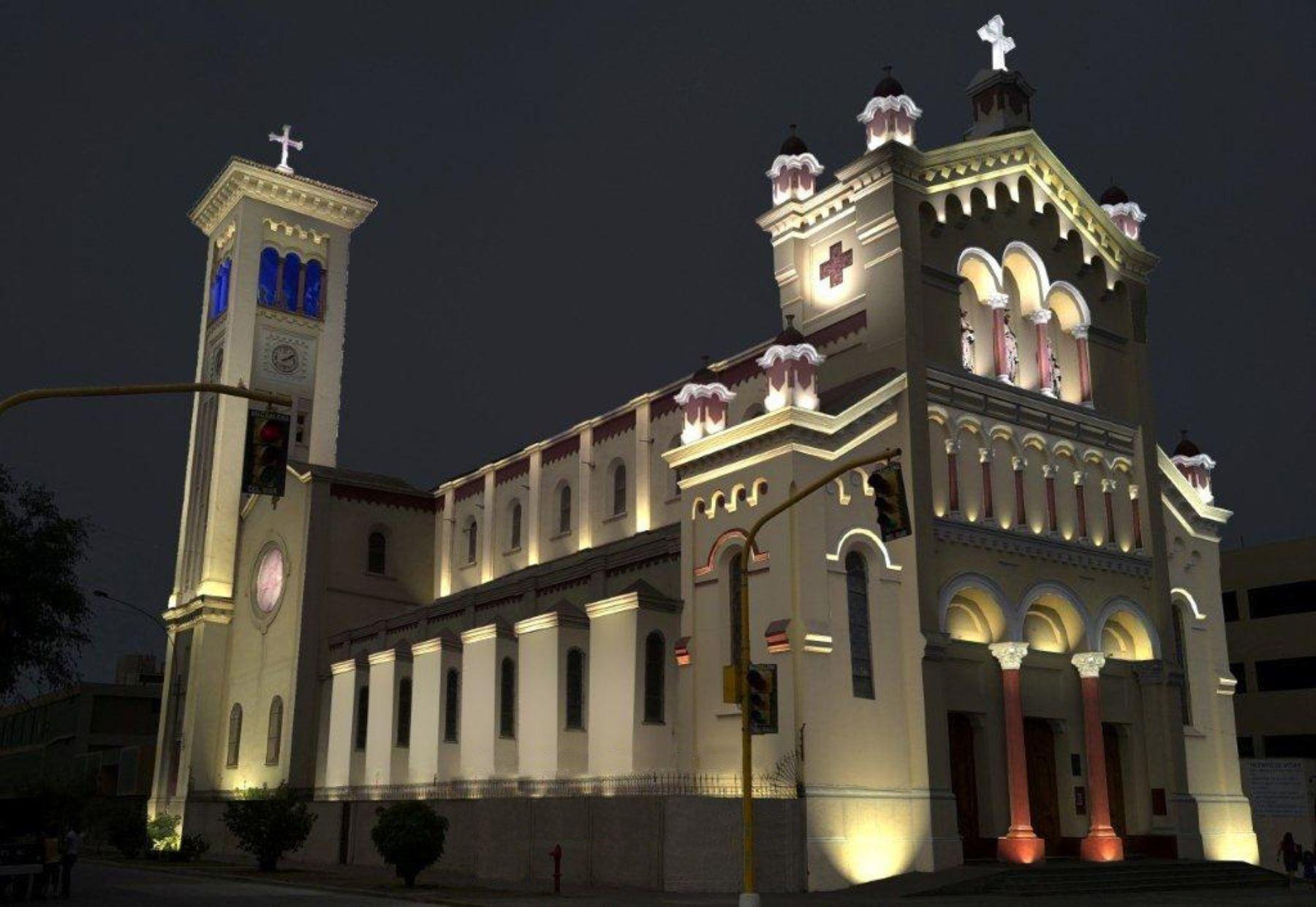 Iglesia Sagrado Corazón De Jesús Magdalena Lima Perú Ferry Building San Francisco San Francisco Ferry Ferry Building