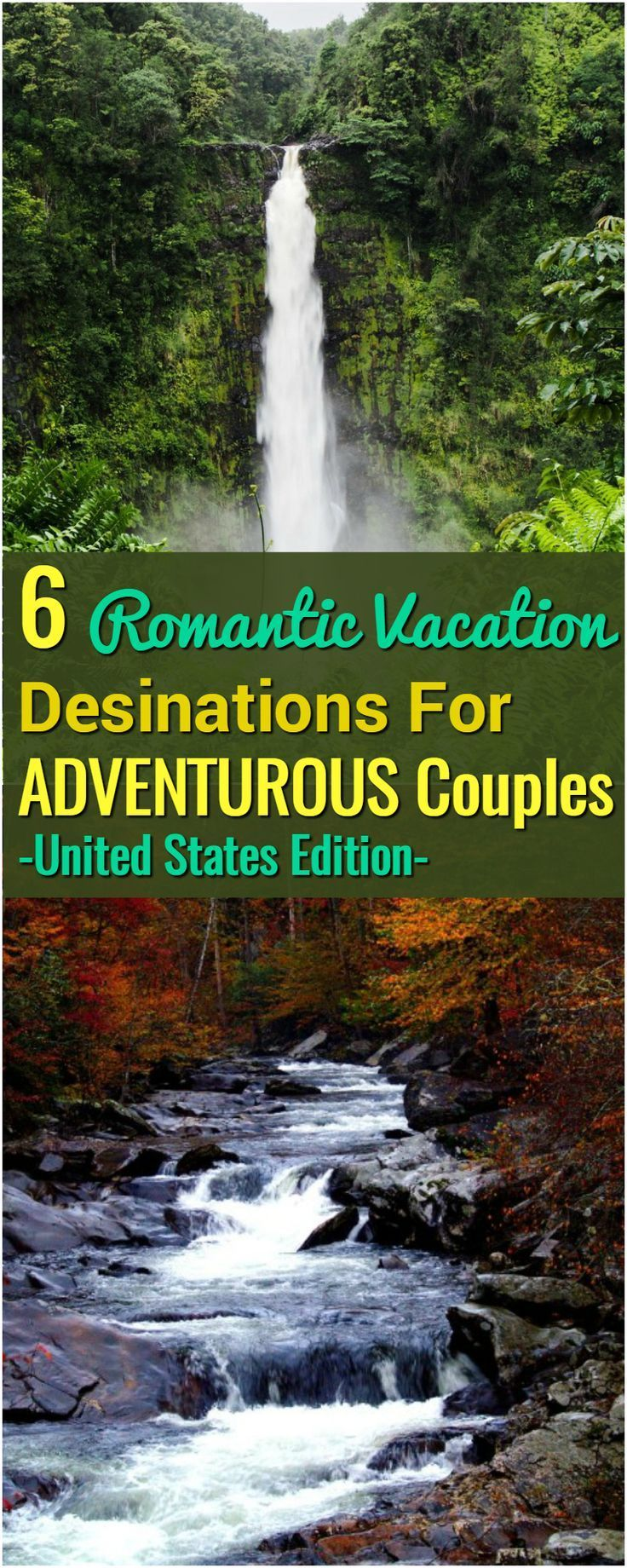Vacation Destinations For Couples On Romantic Getaways