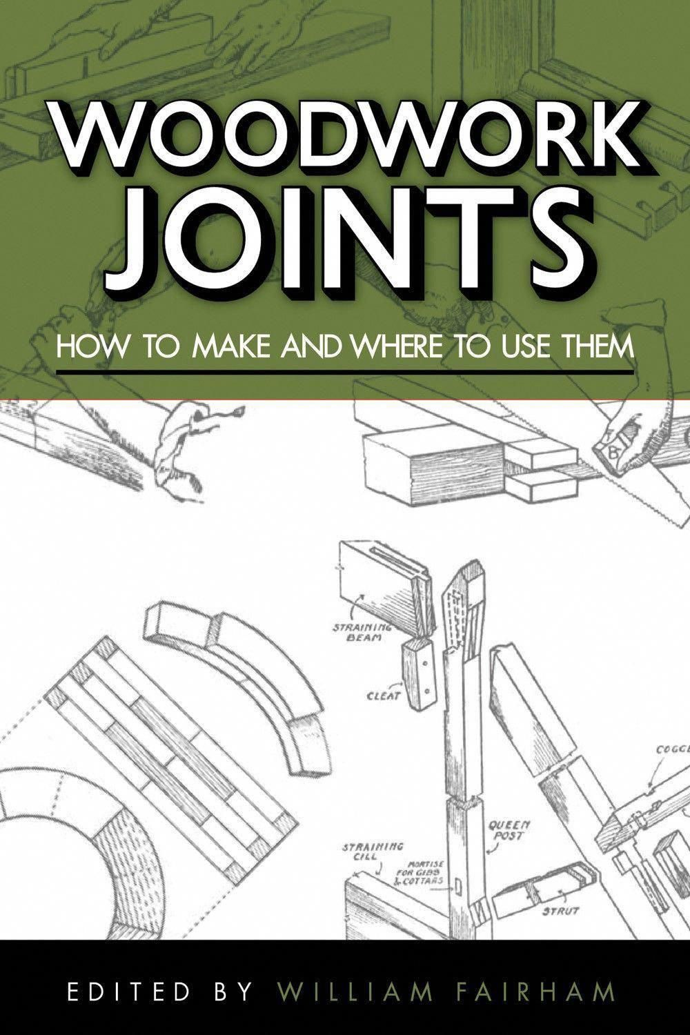Woodwork Joints in 2019 Woodworking joints, Woodworking
