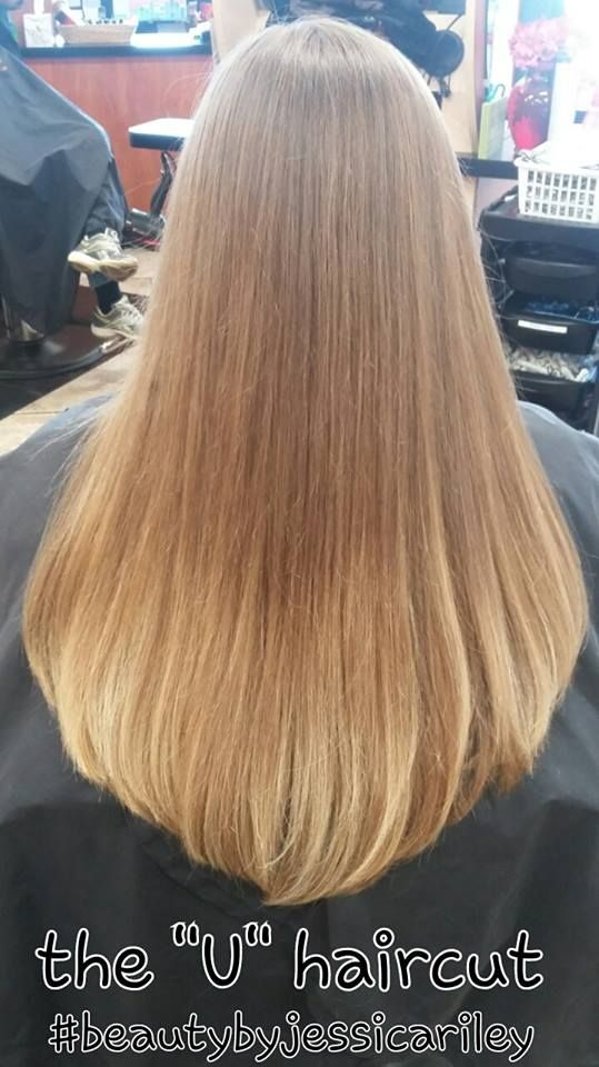 the u haircut #beautybyjessicariley #serendipityofmilford | U haircut, U shaped hair
