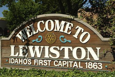 Image result for lewiston sign