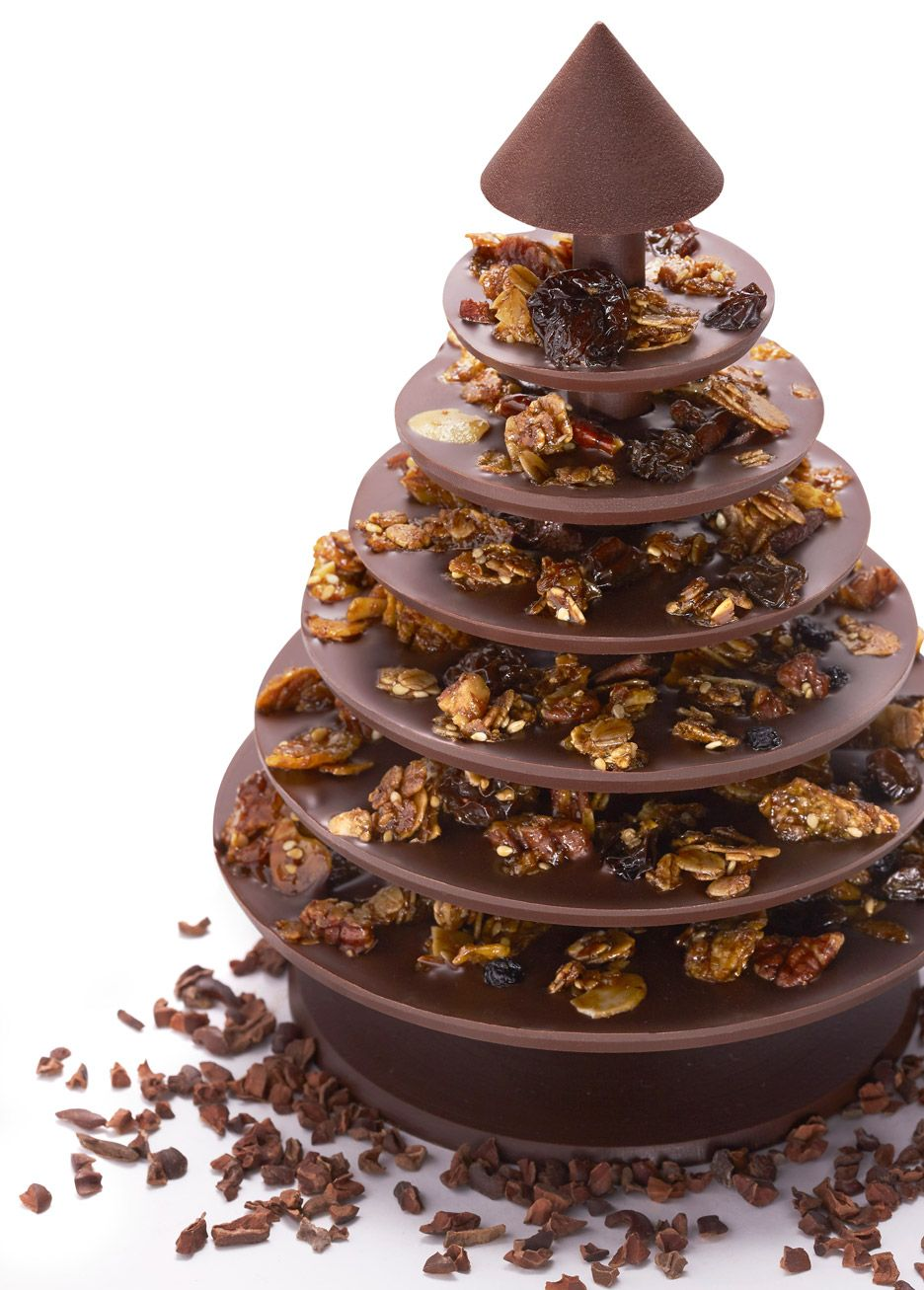 Attractive Christmas Tree Chocolates Part - 13: Chocolate Christmas Tree Assembled Like Flat-pack Furniture