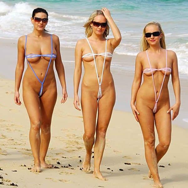 Sling Bikini Teardrop Extrem Bikini Tangaland24
