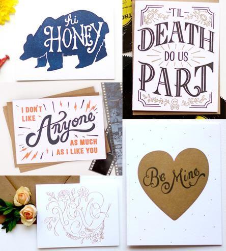 Love is.. a postcard