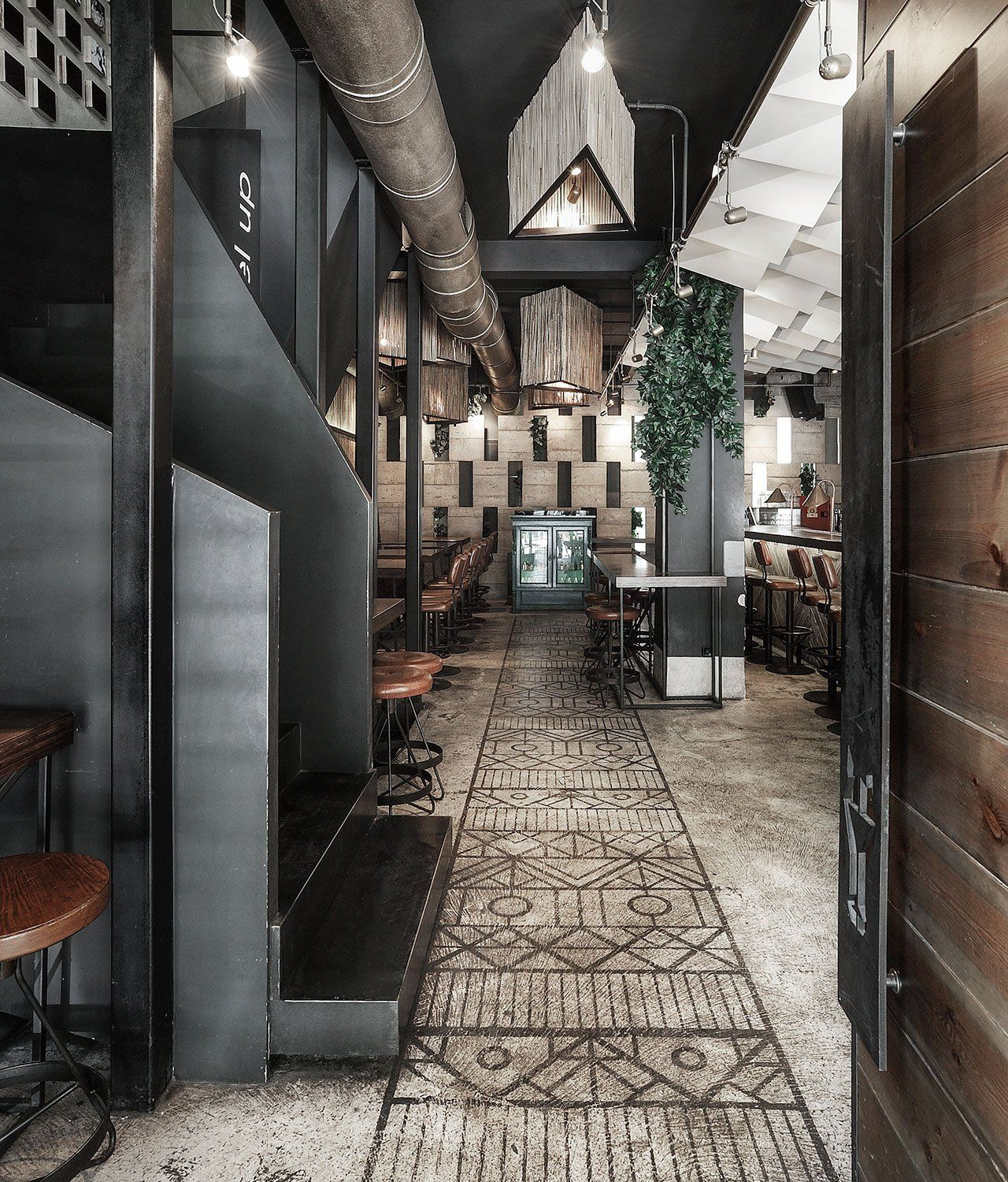 Strange horse cheval bar and restaurant in thessaloniki by ark4lab of architecture yatzer