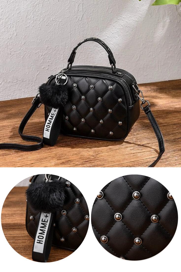 Womens Handbag Quilted Messenger Ladies Shoulder Crossbody Bag Designer Fashion