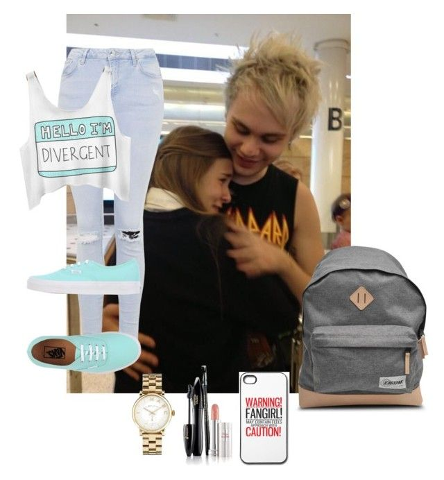 """""""Meeting Mikey"""" by michaelgclifford19 ❤ liked on Polyvore featuring Topshop, A.P.C., Marc by Marc Jacobs, Lancôme and Vans"""