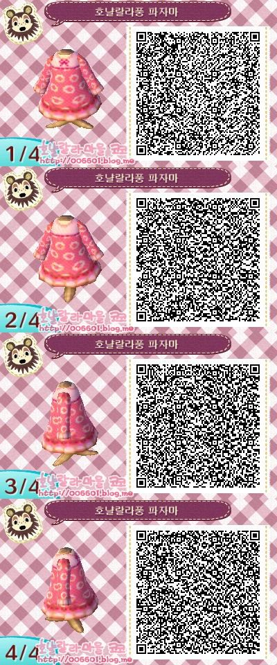 A Few Qr Codes I Picked Up For Animal Crossing New Leaf Animal Crossing Qr Animal Crossing Qr Codes Clothes Qr Codes Animal Crossing