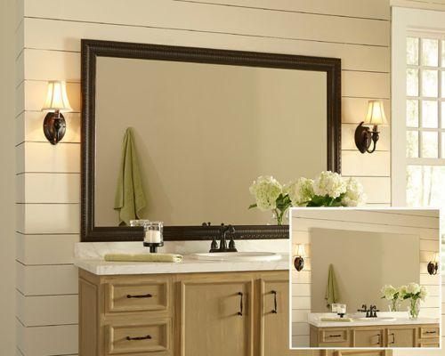 Gerahmte Spiegel für Badezimmer badezimmer gerahmte