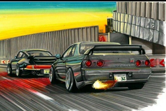 25cbde414a55 Nissan GTR R32