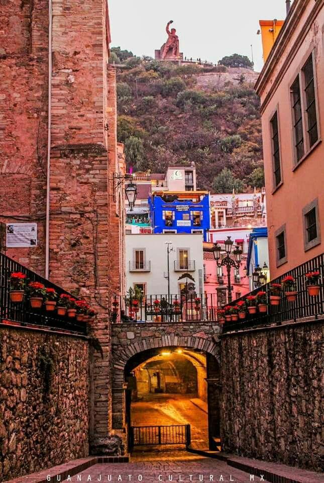 Guanajuato. México Lugares hermosos de mexico, Paisaje