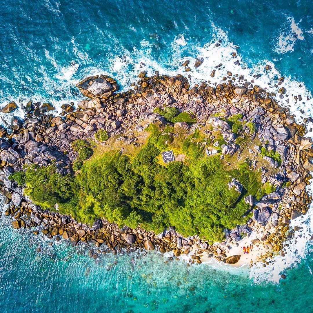 Fitzroy Island Queensland: Taken Above Fitzroy Island In Northern Queensland. . I