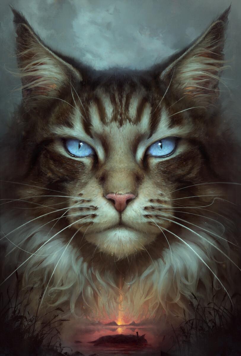 ArtStation Hawkfrost, Jędrzej Chełmiński Warrior cats