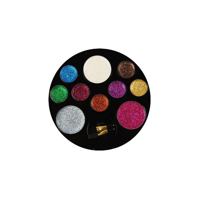 Beauty Treats 10 Color Perfect Glitter Palette Enchanting Hollar So Much Good Stuff Beauty Treats Color Beauty