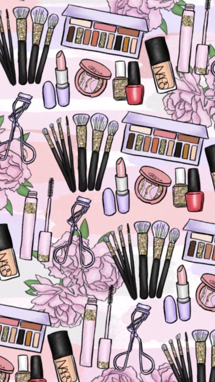 Fondo Fondos De Pantalla Makeup Wallpapers Makeup Drawing  Zwerg