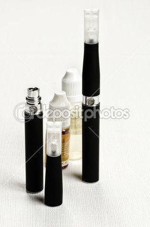 Electronic cigarette, e-cigarette — Foto Stock #23365868