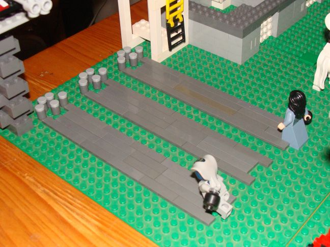 This is my Lego bowling alley. | Lego Amusement Park | Pinterest