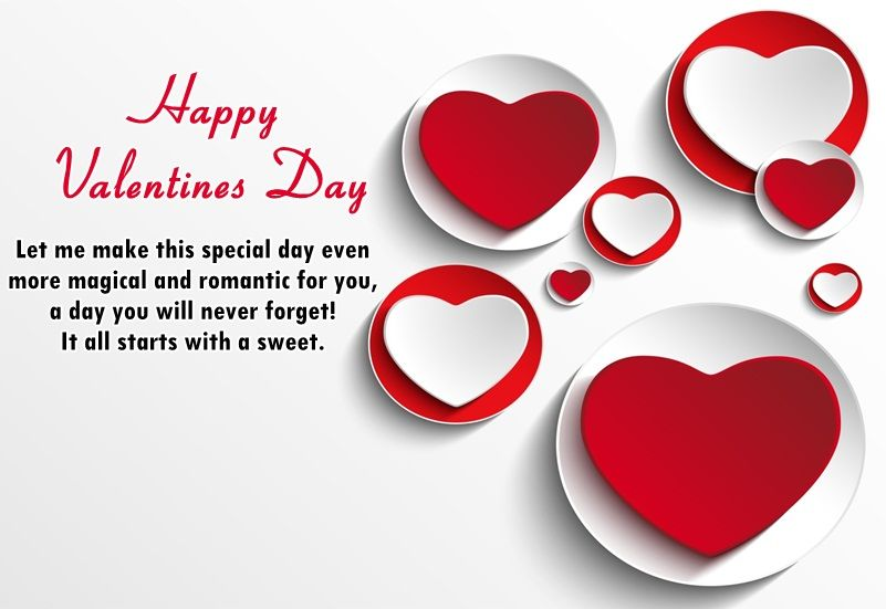 Special 14 February Valentine Day Sms In English For Lover With