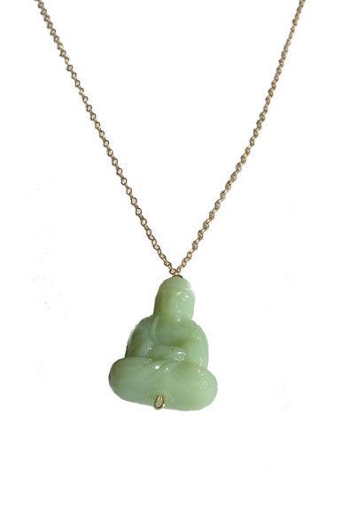 Green Buddha Necklace #necklaces #womens #womens-accessories