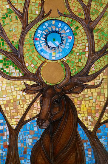 'Coronation of the Forest King' by Lynnette Shelley.