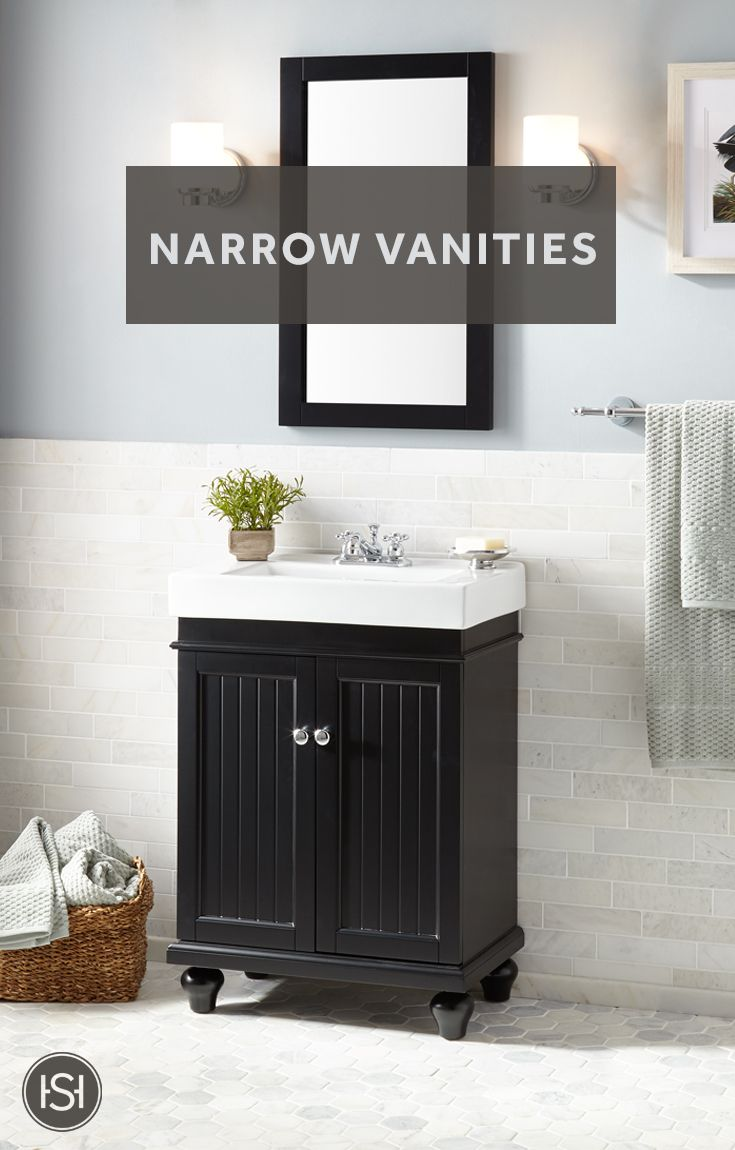 Have A Slim Bathroom Choose From More Than 150 Different Narrow
