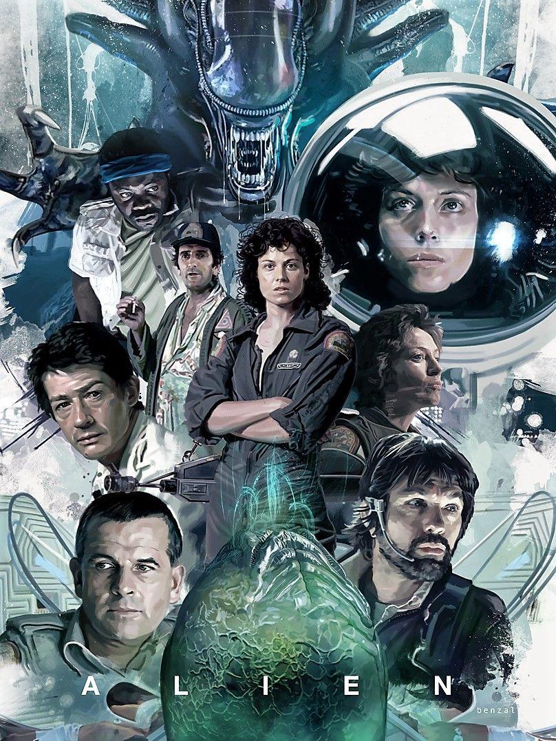 Alien the eight passenger by david benzal cinematografia