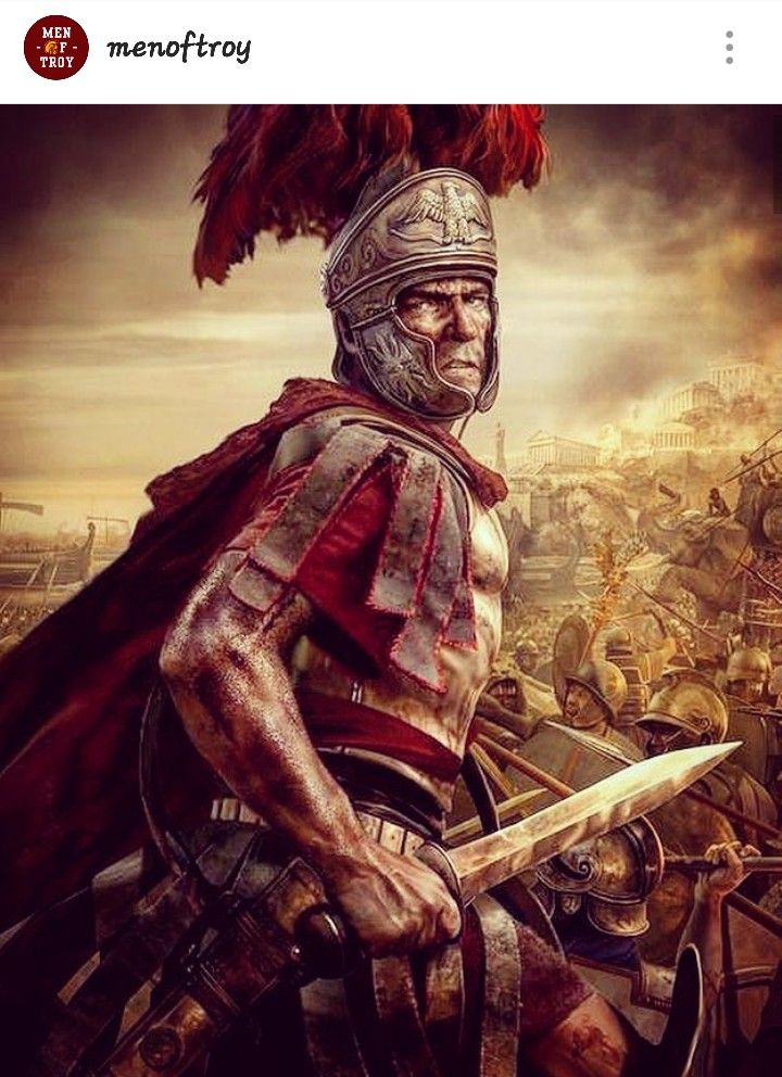 Conquest! Men of Troy! Roman warriors, Roman soldiers