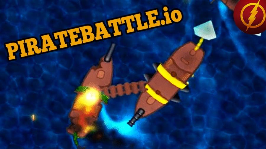 PirateBattle.io is a 3D pirate ship battling game. You