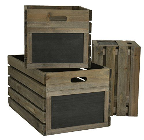 Pin By Tina Symonds On Home Ideas Wooden Crates Garden Furniture Sets Crates
