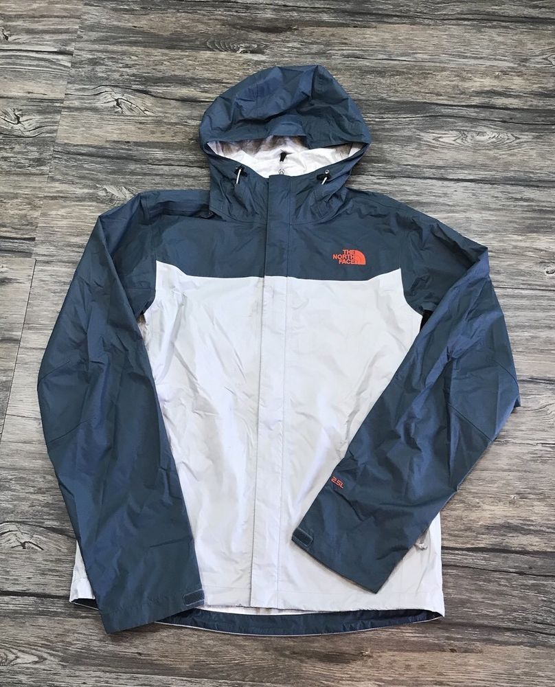 9701682e6 The North Face Hyvent 2.5 L Wind Breaker Rain Jacket Mens Sz S in ...